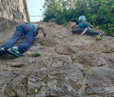 Radionica penjanja na stijenu, tunel Gračani,